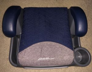 New EDDIE BAUER Toddler Safety Seat • Child Car Booster Chair • Store Stow Cupholder for Sale in Washington, DC