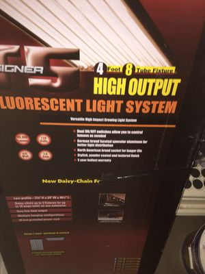 Grow lights - T5 veg lights 432 watt and flowering hood and bulbs, lots of nutrients, grow tent 4Wx8H , 3 magnetic ballAsts , $500 obo for everythin for Sale in Denver, CO