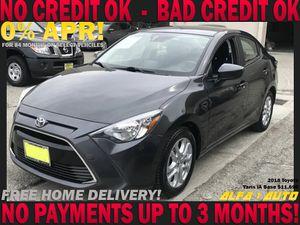 2018 Toyota Yaris ia base clean title bad credit finance lease car dealer uber lyft for Sale in Long Beach, CA