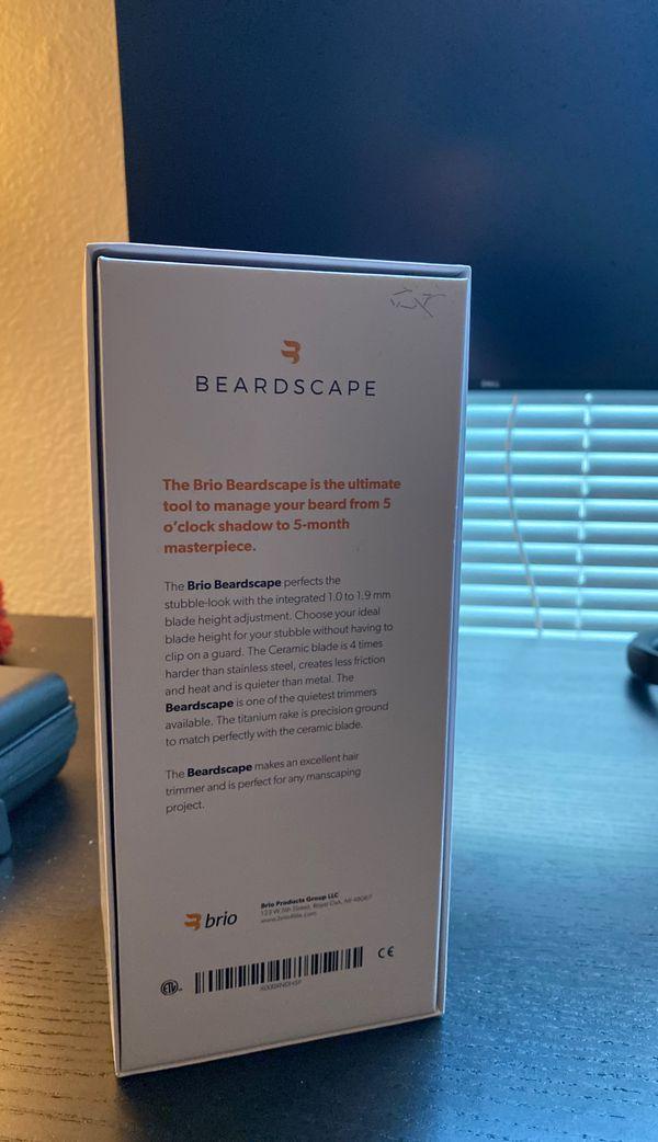 Beardscape Brio Beard Trimmer
