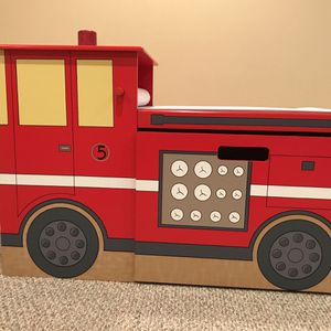 Fire Truck Desk & Bookshelf for Sale in Washington Township, NJ