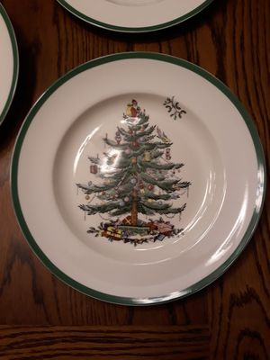 Christmas Tree plates by Spode New for Sale in Oviedo, FL