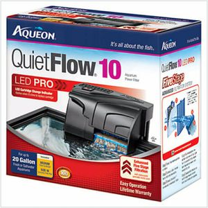 Aqueon QuietFlow LED PRO 10 Aquarium Power Filter for Sale in Phoenix, AZ