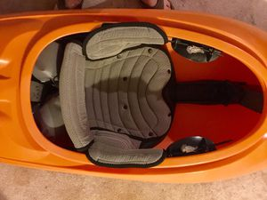Kayak Free ride liquid logic, skirt, paddle. for Sale in Germantown, MD