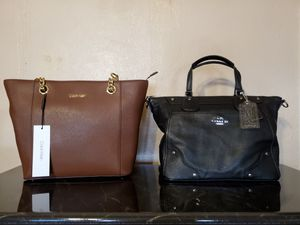 Coach and Calvin bag for Sale in Phoenix, AZ