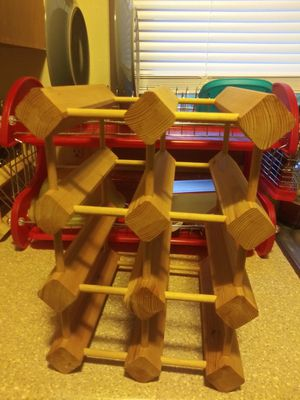 Wine rack for Sale in Blue Grass, IA