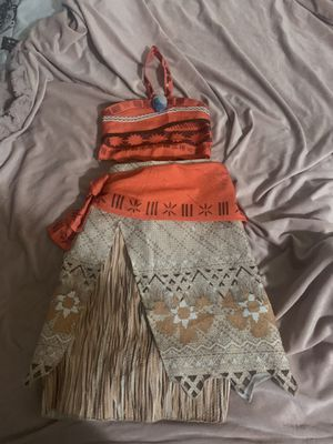 Disney Moana outfit for Sale in Riverside, CA