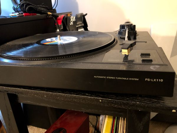 Record / vinyl player Sony ps-LX110