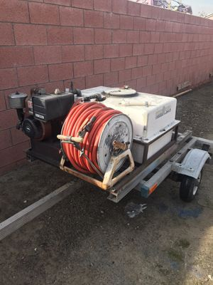 Pressure washer on trailer for Sale in Cypress, CA