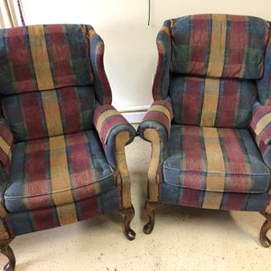 High Back Chairs Good Condition for Sale in Auburn, WA