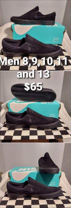 Nike SB Zoom Stefan Janoski Slip RM Men's Skate Shoe Black (AT8899 004) for Sale in Pomona, CA