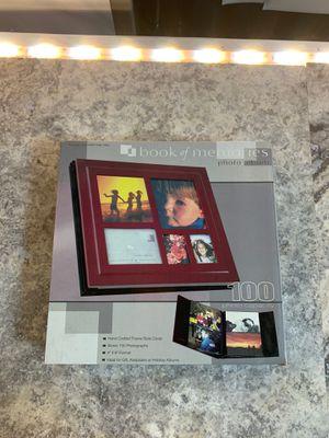 100 photo album book of memories for Sale in Hesperia, CA