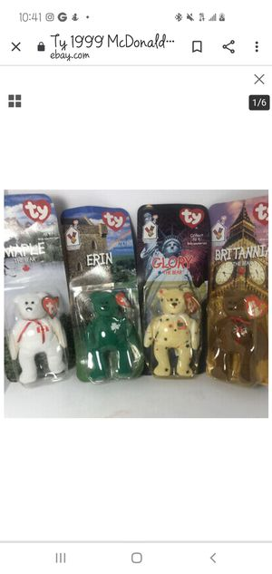 Collectable beanie babies whole set never opened for Sale in Anaheim, CA