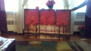"3 paintings 36""x18"" each and 36""x54"" when hung together. for Sale in Wethersfield, CT"