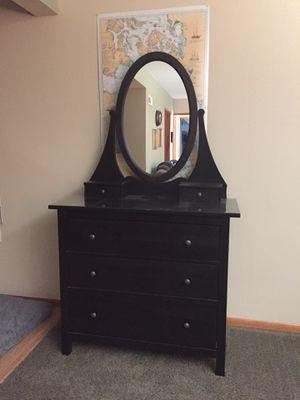 Ikea black dresser for Sale in Edmonds, WA