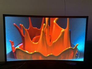 Samsung IT LC 27in curved monitor for Sale in Joliet, IL