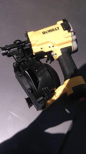 DeWalt coil nail gun for Sale in Denver, CO