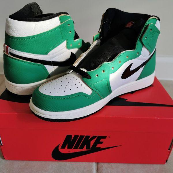 Jordan 1 retro high lucky green sz 9.5W