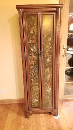 Barboleta Painted Wine Cabinet for Sale in Wheaton, IL