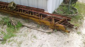 Steel beams very strong, I used to make deck for pool for Sale in Mulberry, FL