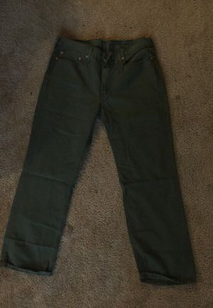 W-36 L-30 LEVI army green for Sale in Oxon Hill, MD