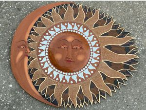 Sun And Moon Garden/Patio Mirror for Sale in Roseville, CA