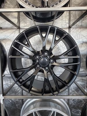 PRICE PER WHEEL 18/19 Z06 Corvette style wheels matte black rims for Sale in Tempe, AZ