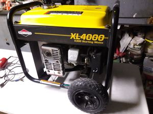 Briggs and Stratton XL4000 Generator 4000 Rated / 5300 Surge Watts - $350 for Sale in Sacramento, CA
