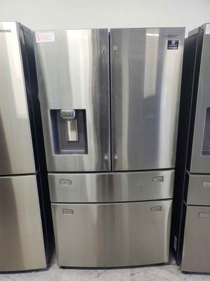 Samsung Fridge 4-Door, French Door with Twin Cooling Plus Same day or next day delivery available for Sale in Garden Grove, CA
