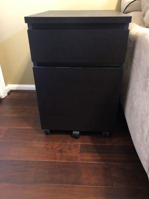 Black File Drawer Unit on Casters for Sale in Manassas Park, VA