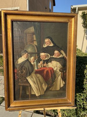 Original Oil Painting from 1800's for Sale in Fresno, CA