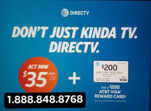 DirecTV Free Install and DVR English and Spanish packages for Sale in Anaheim, CA
