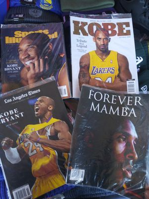 Kobe tribute magazines for Sale in Vallejo, CA