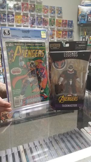 !!! Taskmaster first appearance and Figure !!! comics and toy for Sale in San Marcos, TX