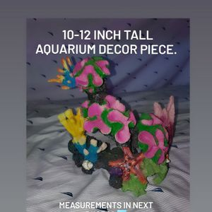 Color Aquarium Decoration Piece for Sale in Chino Hills, CA