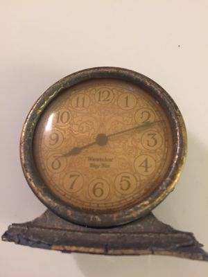 Antique vintage Westclox tiny Tim clock 3x3 . Works! 18.00. 212 north Main Street Buda for Sale in Austin, TX