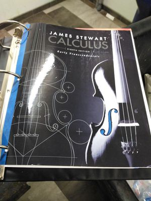 James Stewart eighth edition calculus early transcendentals for Sale in Binghamton, NY