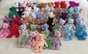 Extensive TY Beanie Babies Collection (219 Pieces) - Adult Owned Collection. EXCELLENT CONDITION / CLEAN / RETIRED. for Sale in Stockton, CA