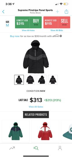 Supreme jacket for Sale in Sudley Springs,  VA