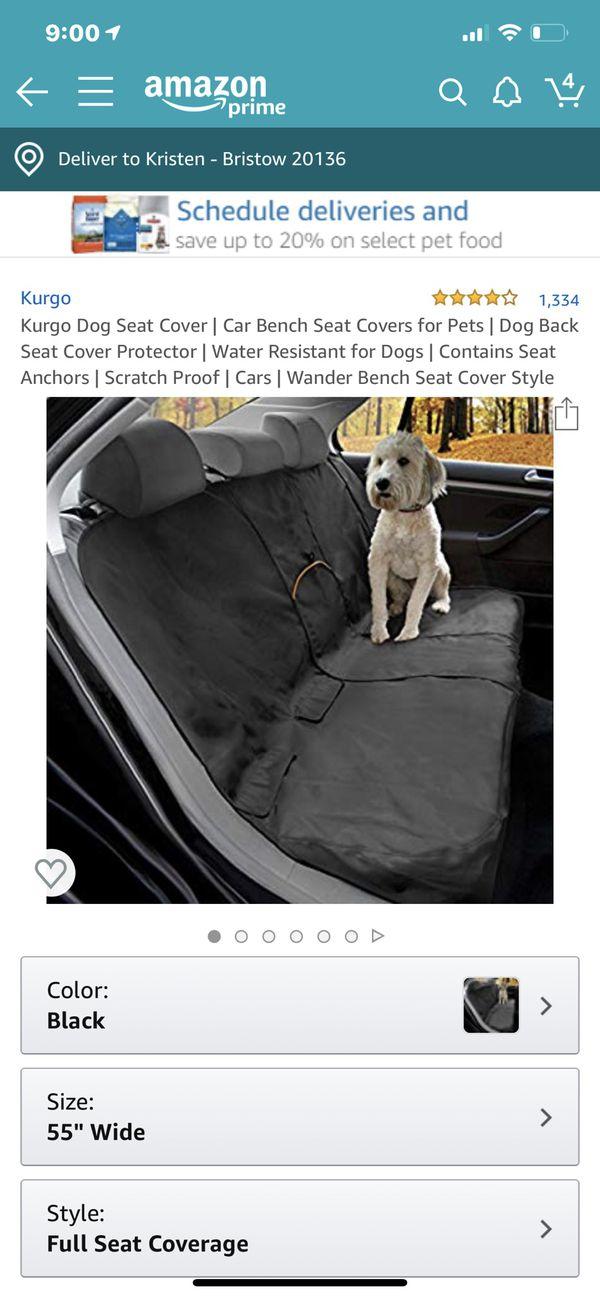 Kurgo Dog Seat Cover for car