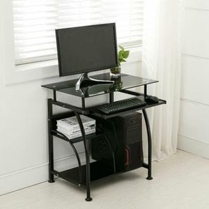 SHIPPING ONLY Office Computer Desk Work Study Station w/Keyboard Tray and Storage Shelf Spaces for Sale in Las Vegas, NV