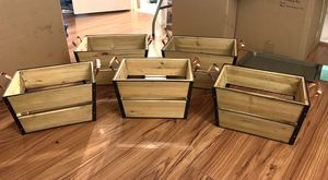 5 stacking basket set for Sale in Concord, CA