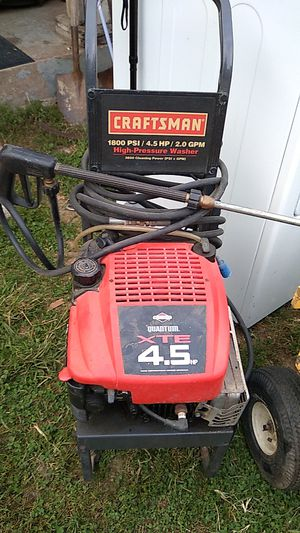Craftsman high pressure washer for Sale in Jeannette, PA
