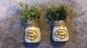 Fake mini plant decor for Sale in Gardena, CA