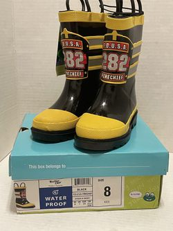 NEW Western Chief rain boots Fire Department toddler size 8 for Sale in Albany,  OR