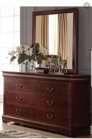 Dresser and mirror for Sale in Phoenix, AZ