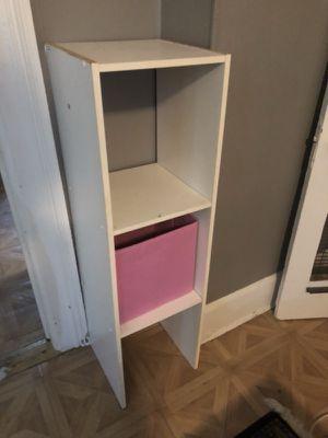 White closet shelf/ organizer for Sale in Crete, IL