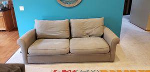 Large tan sofa for Sale in Manson, WA