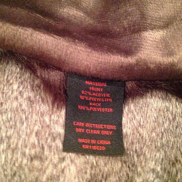 NEW Adrienne Landau Faux Fur MARABOU Animal 50x70 Throw Blanket