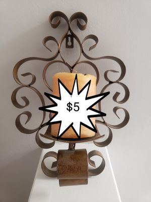 Wall candle sconce $5 for Sale in Dallas, TX